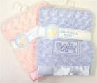 Zvětšit fotografii - Plyšová deka BABY růžová