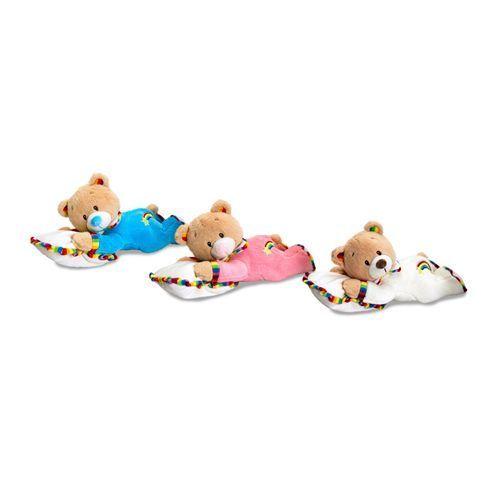 Keel Toys - Spící medvídek Rainbow