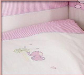 Povlečení Feretti Nino -2 díly Elefant pink
