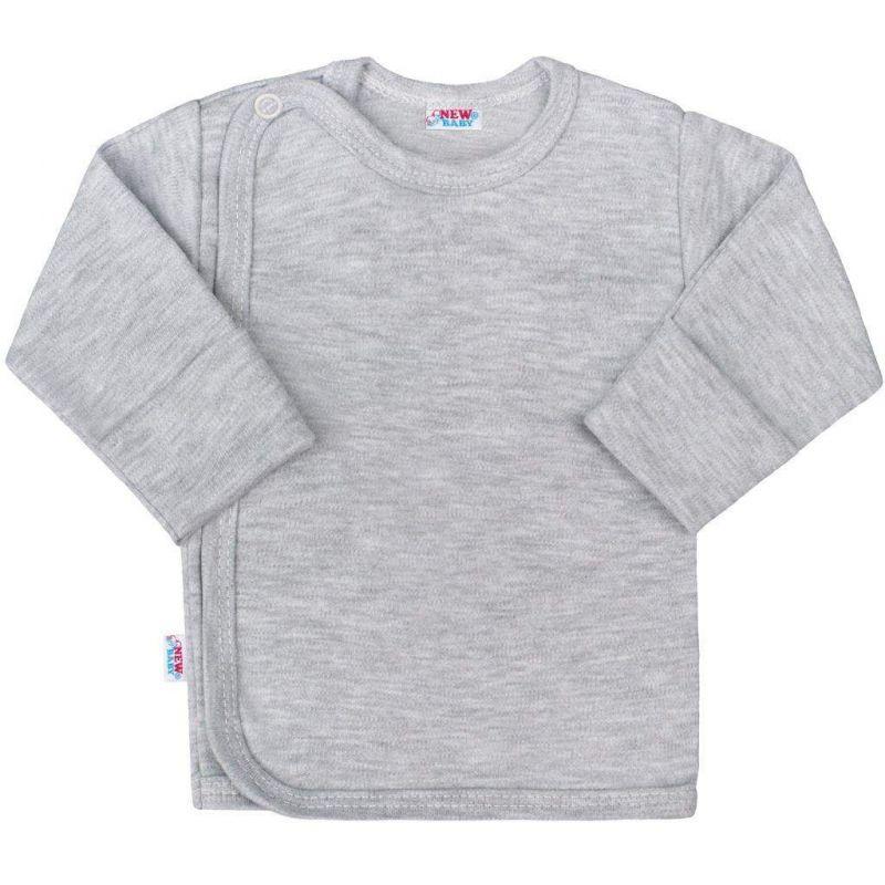 Kojenecká košilka New Baby Classic II šedá vel 68