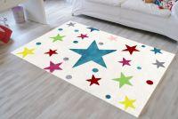 Dětský koberec STARS krémová/multicolor 120x180 cm Livone