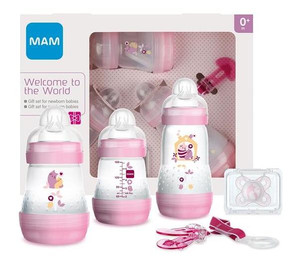 MAM - Dárkový set pro holčičku - Kočičky