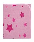 Dětská deka 80x90 cm LittleUp Stars pink