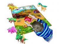 Scarlett dětský pěnový kobereček 3D DINO