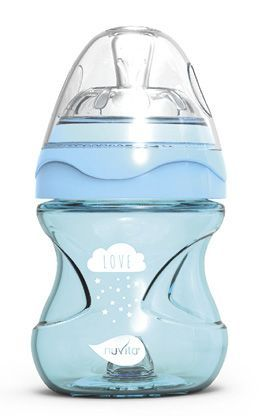 Lahvička Mimic Cool 150ml, Light blue Nuvita