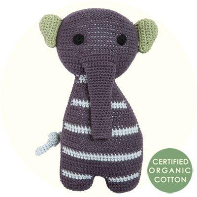 Crochet Toys Cuddly - Mazlivé zvířátko háčkované FRANCK & FISCHER