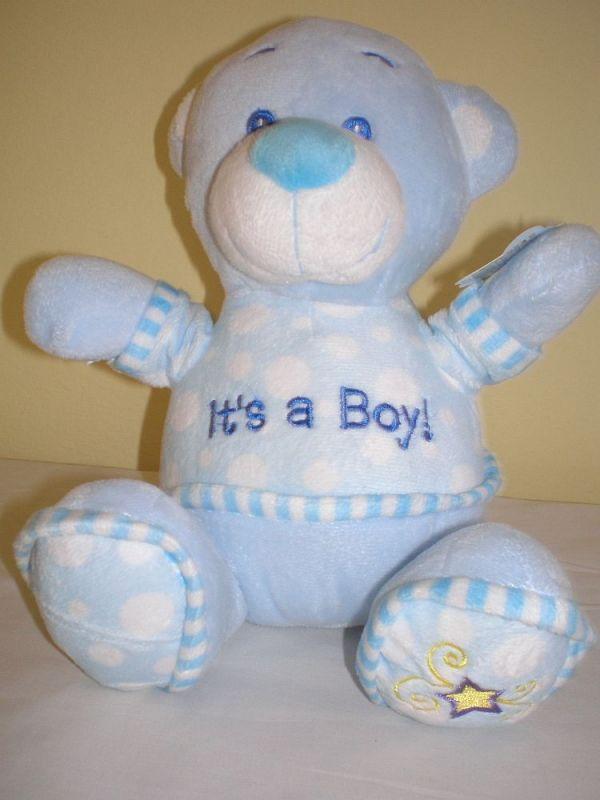 Modrý medvídek v triku