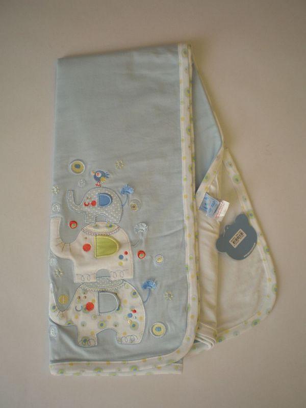 ZipZap - Bavlněná deka Elephant