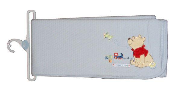 ZipZap - Bavlněná deka Medvídek PÚ