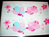 Babymoov-Samolepící dekorace 15kusů -Zamilovaní motýlci