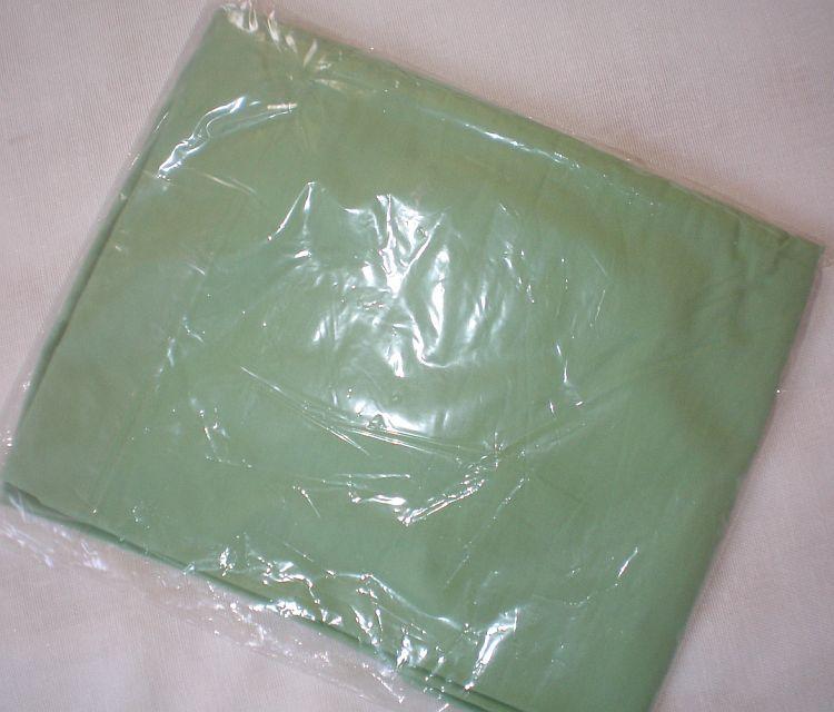 Letní prostěradlo bavlna 100% hladká - zelené Feretti Nino