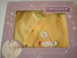 Micuna - overálek žlutý 0/3 měs.