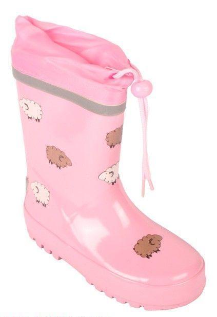 Růžové holinky s ovečkami-vel.33 Playshoes