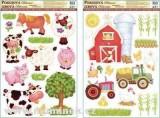 Samolepící dekorace Farma