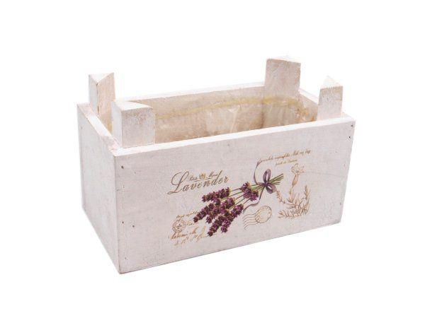 Dekorační obal na květiny ve stylu Provence malý - levandule Český výrobek