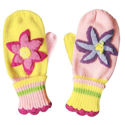 Kidorable dětské palcové rukavice Lotus 3-6 let