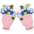 Kidorable dětské prstové rukavice Girls 3-6 let