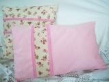 Růžičky - polštářek s výplní obdélník