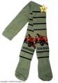 Bavlněné punčocháčky Disney Burák - khaki 92/98