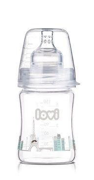 Lahvička LOVI - 150ml - super vent DIAMOND GLASS - RETRO BOY