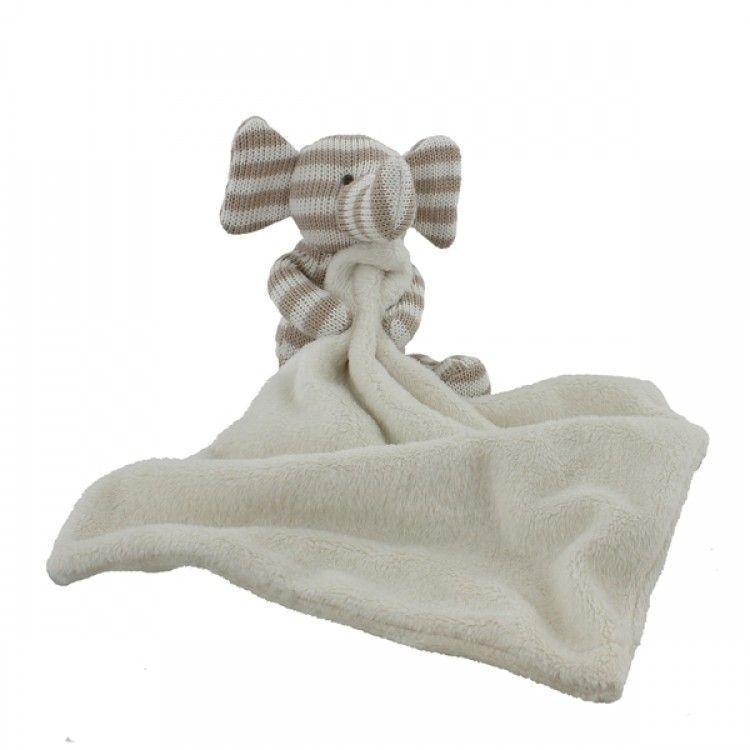 Luxusní mazlíček s pleteným slůnětem Bambino