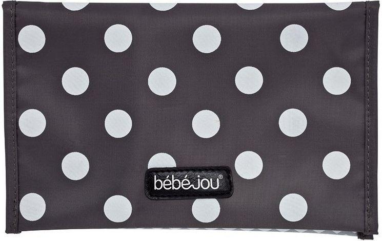 Pouzdro na plenku Bébé-Jou Grey Dots šedý puntík Bébéjou