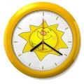 Dětské hodiny č. 09 Sluníčko