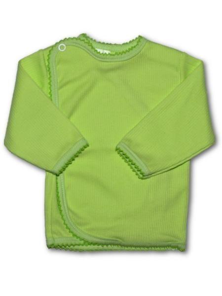 Kojenecká košilka vroubkovaná New Baby zelená - vel.56