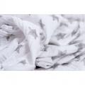 Bavlněné látkové pleny 120 x 120 cm 2 ks ROBIN šedé Haton