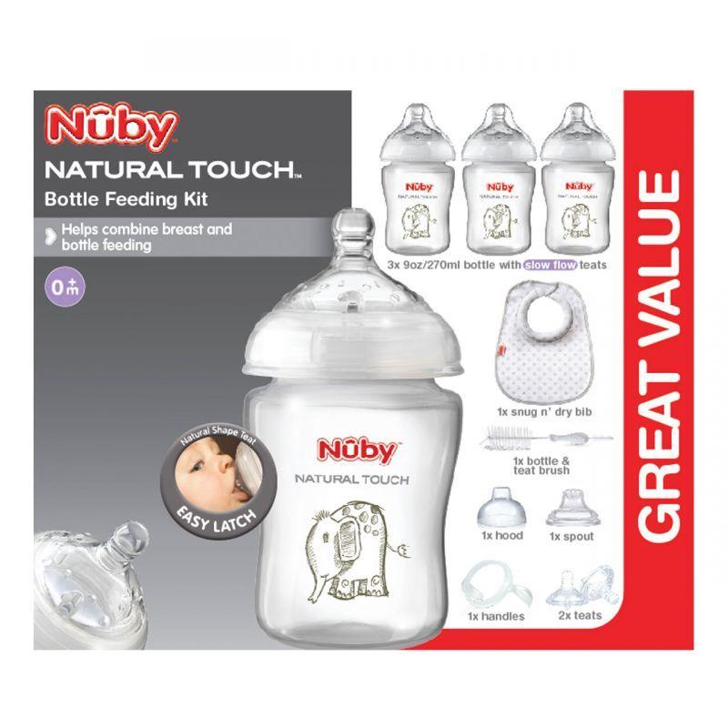 Nuby Natural Touch - Startovací set pro novorozence