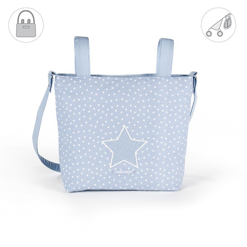pasito a pasito® Small Changing Bag Vintage blue