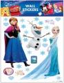Samolepky na zeď Disney Ledové království Elsa a Anna 30x30cm