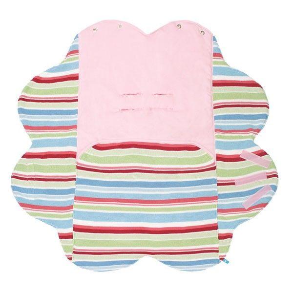 WALLABOO Měkká deka /zavinovačka/ z úpletu Jolie pink