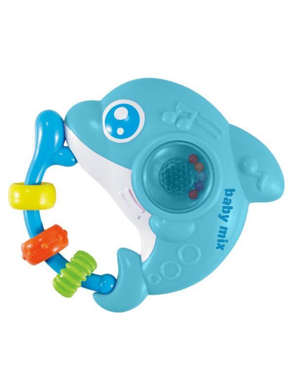 Dětské chrastítko se zvukem Baby Mix Delfín
