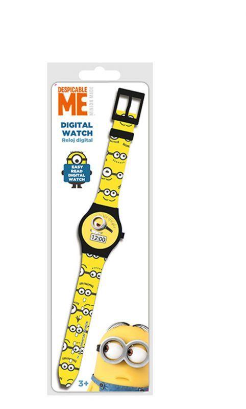 Digitální hodinky Mimoni žlutá Euroswan
