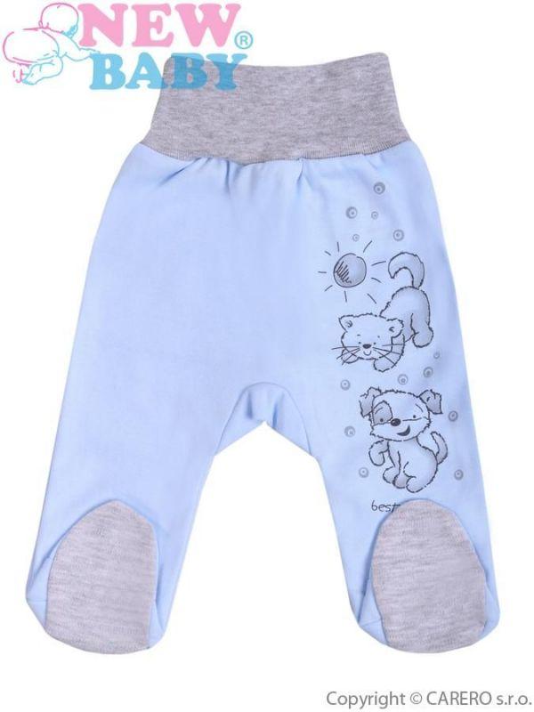 Kojenecké polodupačky New Baby Kamarádi modré vel.56