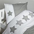 Povlečení STAR na přikrývku 100x135 a polštář 40x60 cm